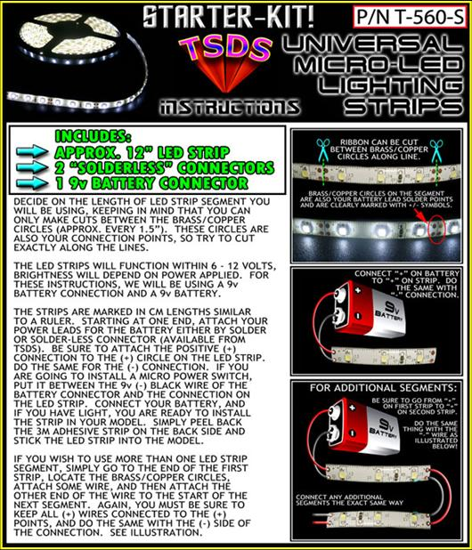 Tsds universal micro led lighting strips aloadofball Images